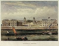 Greenwich Hospital building 1830s